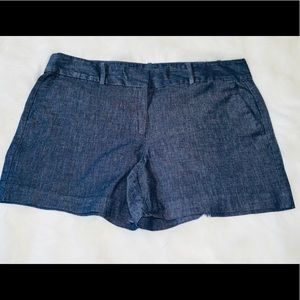 Ann Taylor Signature Denim Shorts